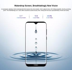 "Image 3 - Doogee x90 telefone móvel 6.1 ""hd waterdrop tela 1gb ram 16gb rom 3400mah mt6580a/wa quad core face id android 8.1 smartphone"