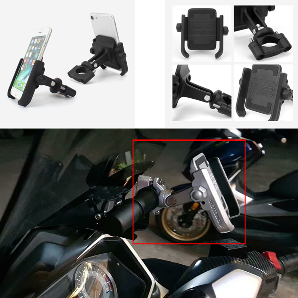Universal <font><b>GPS</b></font> Phone Holder <font><b>For</b></font> <font><b>HONDA</b></font> CBR250R 10-15/ CBR300R 14-17 <font><b>CBR</b></font> 250R 300R Motorcycle Accessories Navigation Mount Bracket image