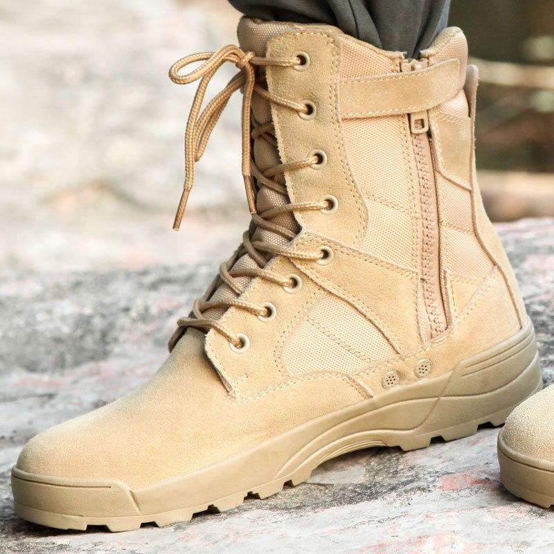 Thunder Combat Boots Ultra-Light Combat Boots Desert Boots Desert Boots Sandy Color Combat Boots