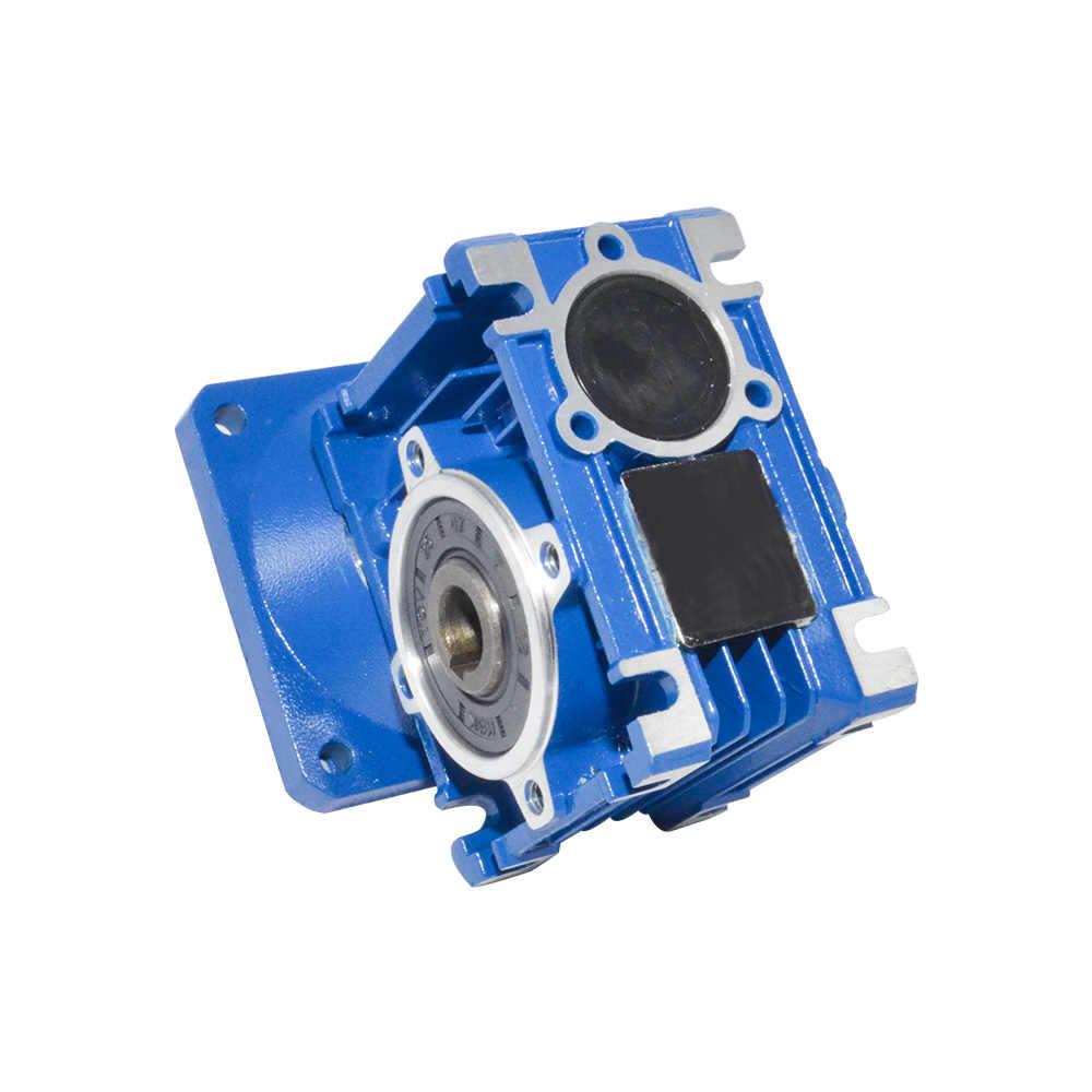 NMRV030 ギアボックス減速比 5/7。 5/10/15/20/25/30/40/50/60/80 高品質電気モーターギアボックス使用自動ドア用モーター