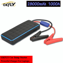 Charger Power-Bank Jump-Starter Battery-Booster Starting-Device 28000mah 1000A Waterproof