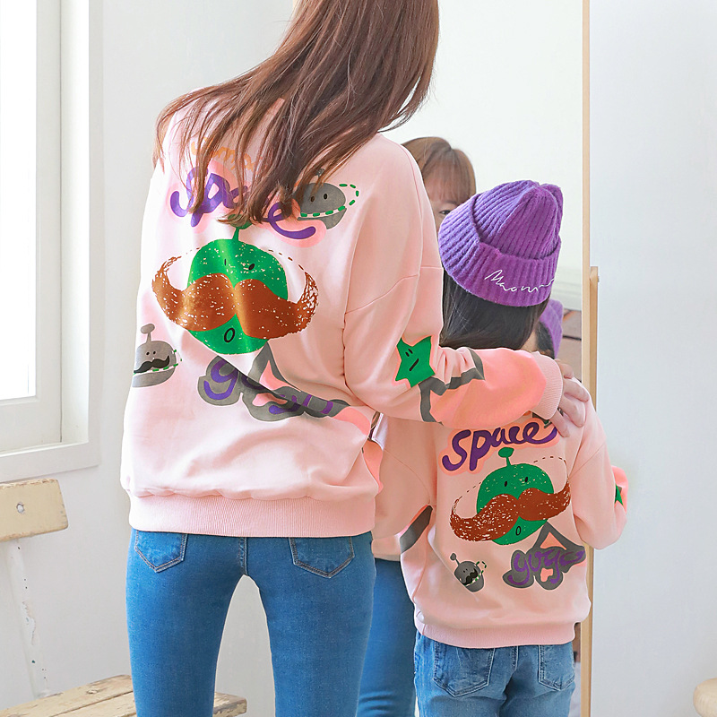 Family Clothing Daughter-Clothes Son-Outfits Mommy Winter Fashion And Me Autumn Sweaters