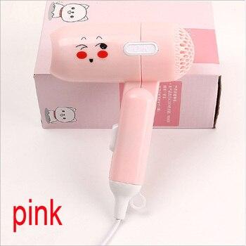 10pcs Cartoon hair dryer strong wind hair drier mini hair drier foldable hair drier