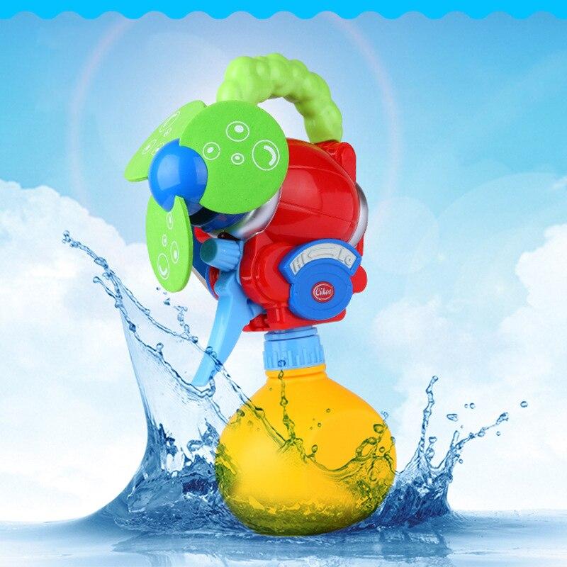 Cikoo Creative Children Mini Spray Bottle Cooling Spray Fan Water Pistol Toy Gun Summer Outdoor Game Beach Toy Gift For Kid