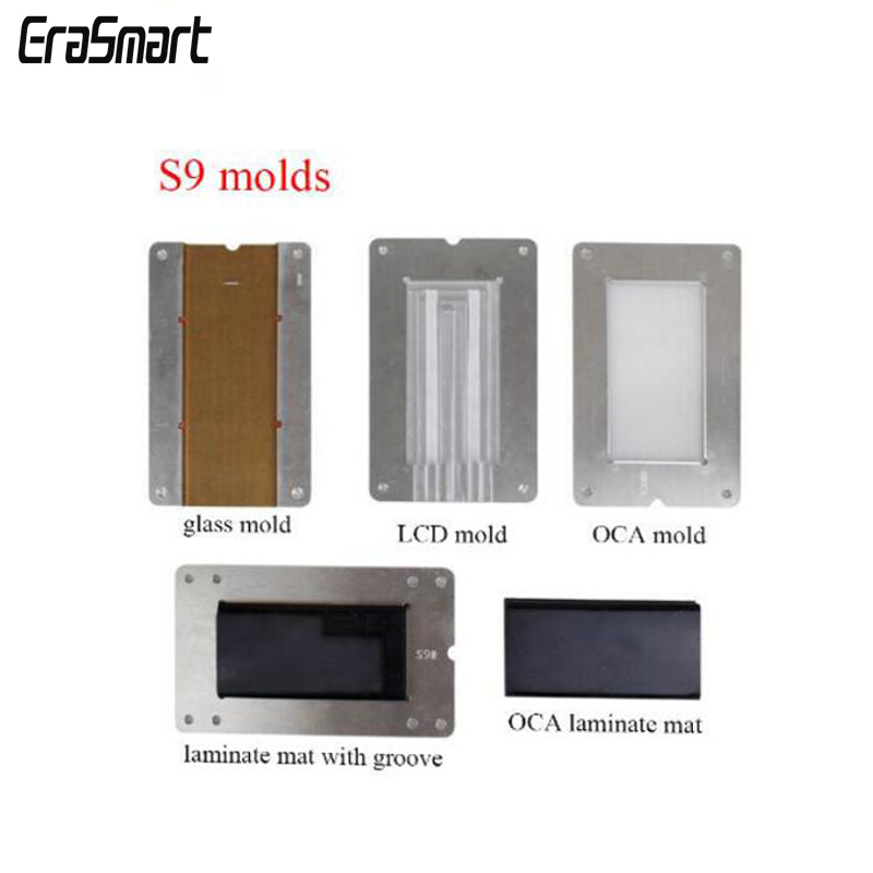 MAT Edge Machine Lamination Molds for Samsung S7 Edge/S8/S8+/S9/S9+/Note 8/Note 9