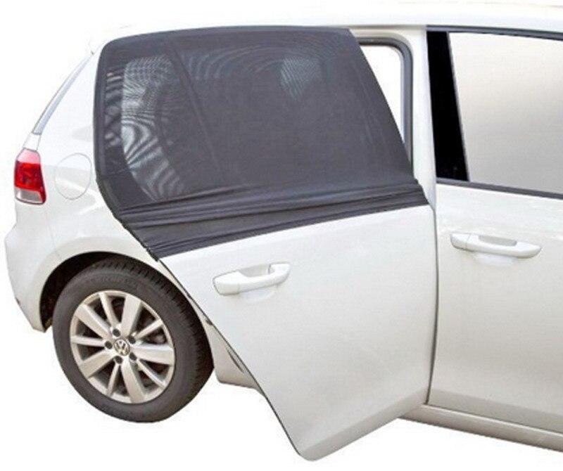 2pcs Car Sun Shade UV Protection Car Curtain Car Window Sunshade Side Window Mesh Sun Visor Baby Child Protection