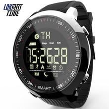 Lokmat czas Smart Watch do fitnessu Sport aktywność na świeżym powietrzu inteligentny zegar cyfrowy zegarki krokomierz przypomnienie o połączeniu dla iOS Android