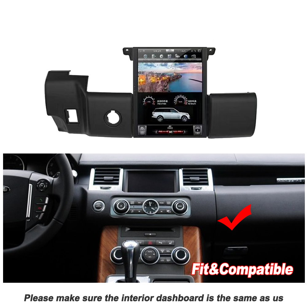 Image 4 - Liorlee For Range Rover Sport 2009 2013 Car Radio Android HD Screen GPS Navigation original style Multiemdia SystemCar Multimedia Player   -