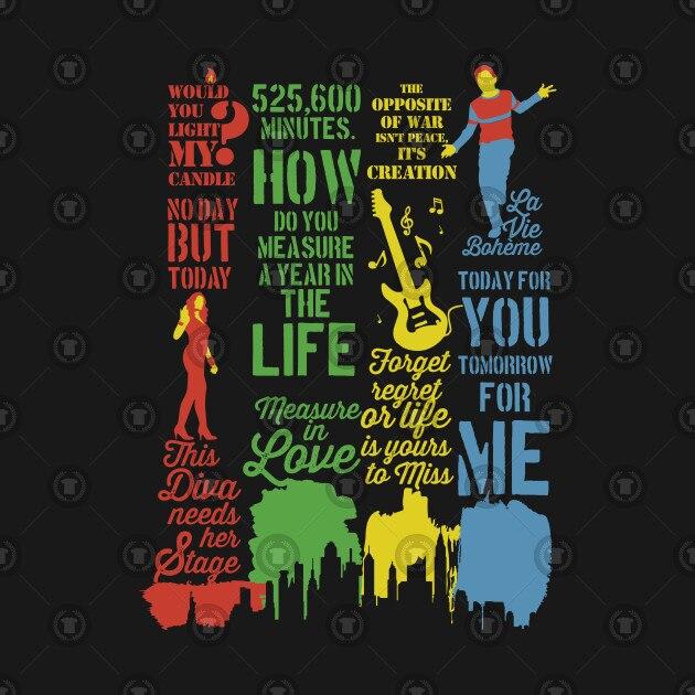 Rent Best Quotes Tshirt Rent Musical Women S T Shirt T Shirts Aliexpress