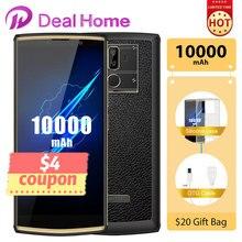 OUKITEL K7 pro 6.0″ 18:9 Screen 10000mAh Battery Smartphone Android 9.0 MT6763 4GB RAM 64GB ROM Fingerprint Oukitel Mobile Phone