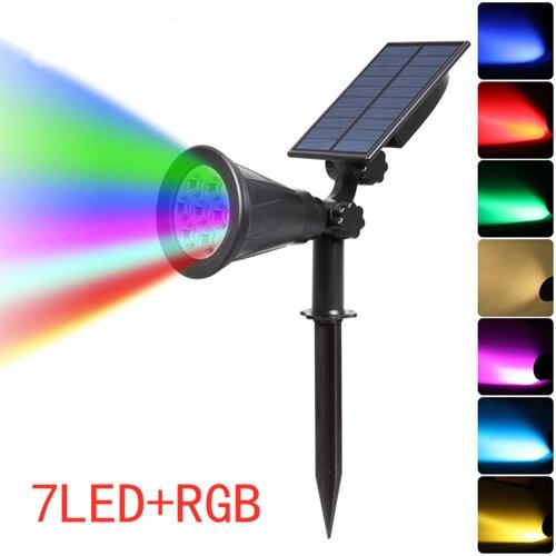 T-SUNRISE-7-LED-Solar-Spotlight-Auto-Color-Changing-Outdoor-Lighting-Garden-Solar-Lamp-Landscape-Wall