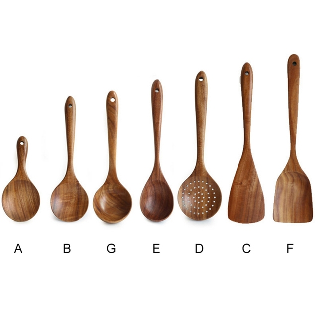 Wooden Cooking Spoon.