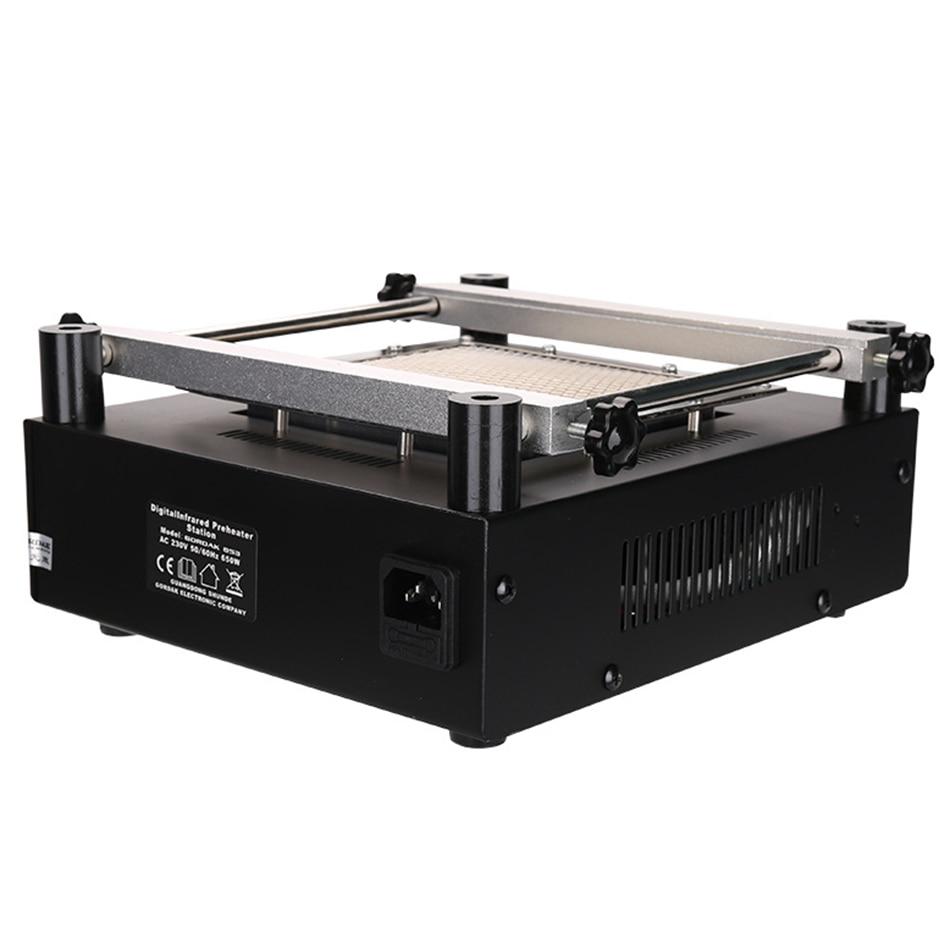 Tools : Gordak 853 Hot Air Heat Gun BGA Rework Soldering Station   Electric Soldering iron   IR Infrared Preheating Station