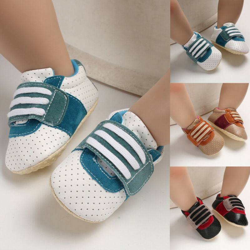 Baby Shoes Casual Wear Soft Sole Newborn Baby Boy Girl Pre-Walker Crib Shoes Sneakers 0-18 Months
