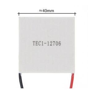 Image 2 - 50pcs 100% New the cheapest price TEC1 12706 TEC 1 12706 57.2W 15.2V TEC Thermoelectric Cooler Peltier (TEC1 12706)