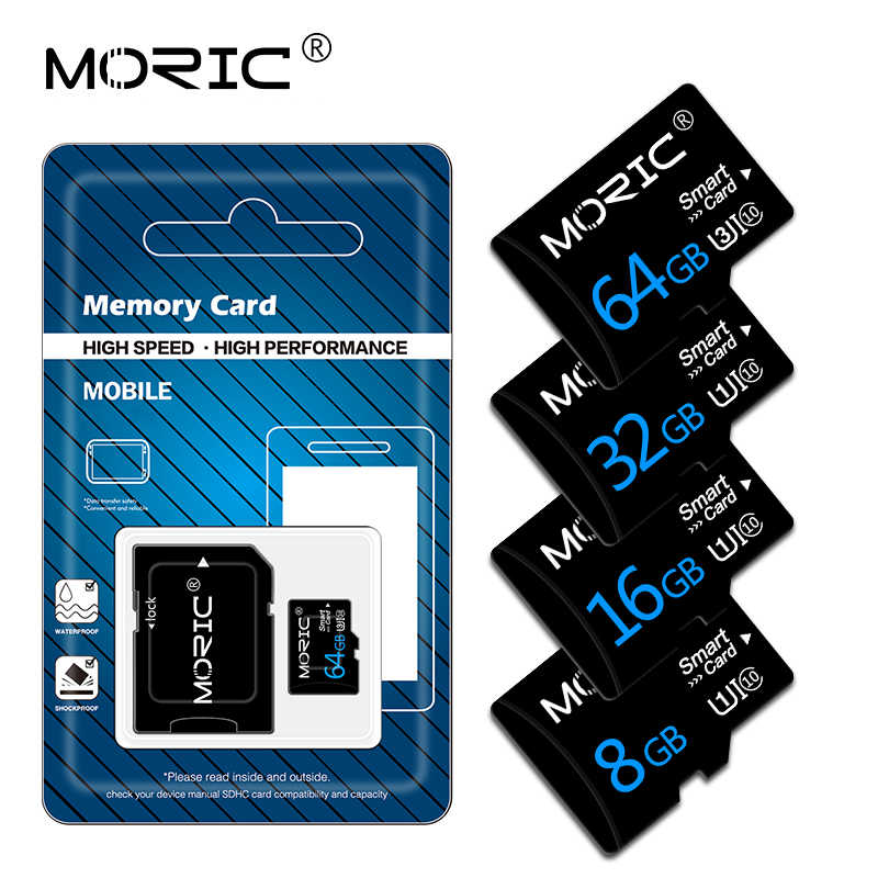 Carte mémoire originale 128GB 64GB 32GB haute vitesse carte flash 16GB 8GB mémoire microsd TF/SD cartes pour tablette/appareil photo/téléphone portable