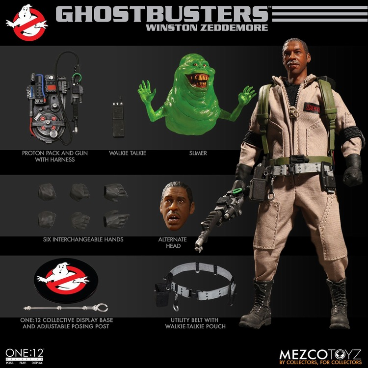 extra Ghostbusters egon or ray head for 12 inch figure new