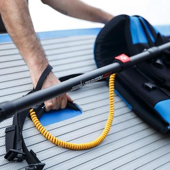 Cuerda Elástica retráctil Kayak canoa Paddle Correa pesca correa para caña cuerda de seguridad mosquetón remo barcos accesorios buena durabilidad