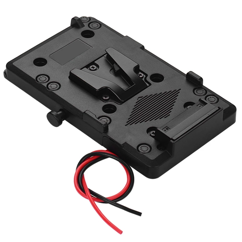 Pack Plate Adapter with D-Tap Output for Sony V-Mount V-Lock Battery External for DSLR Camera Camcorder Video Light