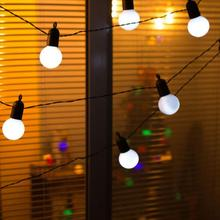 15M LED Globe Festoon Party Ball string light outdoor/indoor Christma Light Connectable fairy light wedding garden party garland 15m led globe festoon party ball string light outdoor indoor christma light connectable fairy light wedding garden party garland