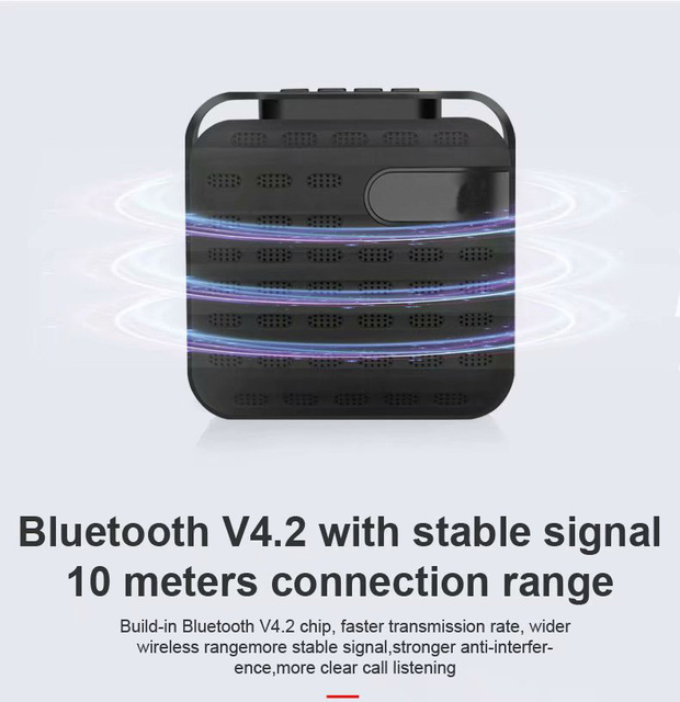 Outdoor Loudspeaker Wireless Portable Speaker Active Extra Bass,  Portable Speakers for Home, Outdoors, Travel 3