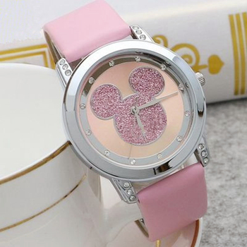 Steel Quartz Watch Crystal Anime
