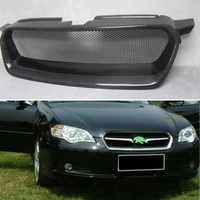 Use for Subaru Legacy Racing Grills 2008 2009 Year real carbon fibre front center racing grille cover accessorie body kit