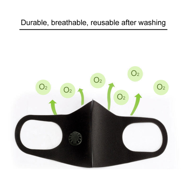 Tcare Anti Haze PM2.5 mouth Mask anti dust mask Activated carbon filter Mouth-muffle bacteria proof Flu Face mask Health Care 4