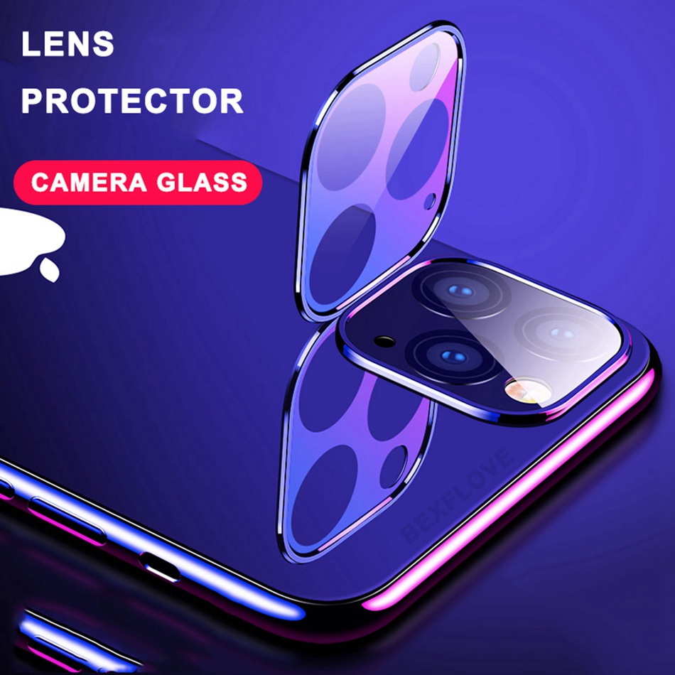 Tempered Glass On For iPhone 11 Pro X XS Max Glass Camera Lens Screen Protector For Apple iPhone11 Pro Max Protective Glass Film image