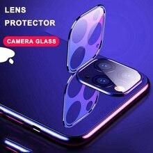 Verre trempé sur pour iPhone 11 Pro X XS Max verre caméra lentille protecteur décran pour Apple iPhone11 Pro Max Film de protection en verre