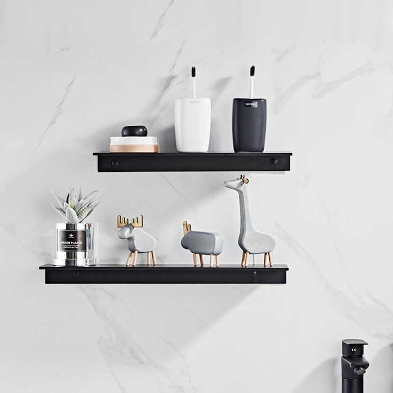 etagere de salle de bain en aluminium noir blanc panier d angle decoratif mural etagere pour shampoing