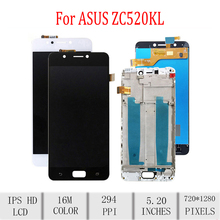 Original For ASUS Zenfone4 Max ZC520KL LCD X00HD LCD Display Touch Screen Digitizer Assembly For Asus ZC520KL Display with Frame