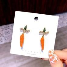 Simple Retro geometric Metal Round earrings Square tassel long for women girl jewelry Accessories
