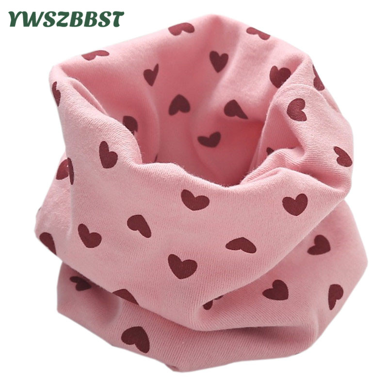 2020 New Children's Cotton Scarf Baby Girls Scarf Kids Boys Ring Magic Neckerchief Autumn Winter Baby Scarf Outdoor Warmth