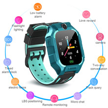 2020 New Smart watch Z6 Positioning Touch Screen Camera Smart Watch Waterproof Kids Finder Locator Tracker Anti Lost Monitor(China)
