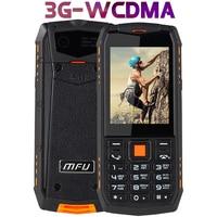 IP68 Waterproof shockproof Russian keyboard WCDMA 3G mobile phone 2.8 2700mAh bluetooth Dual SIM Unlock Rugged cellphone A903S