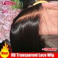 Парик Hd прозрачный на сетке спереди, 13x6, прямые парики на сетке спереди, малазийский парик без повреждений, лемода, прямые человеческие воло...