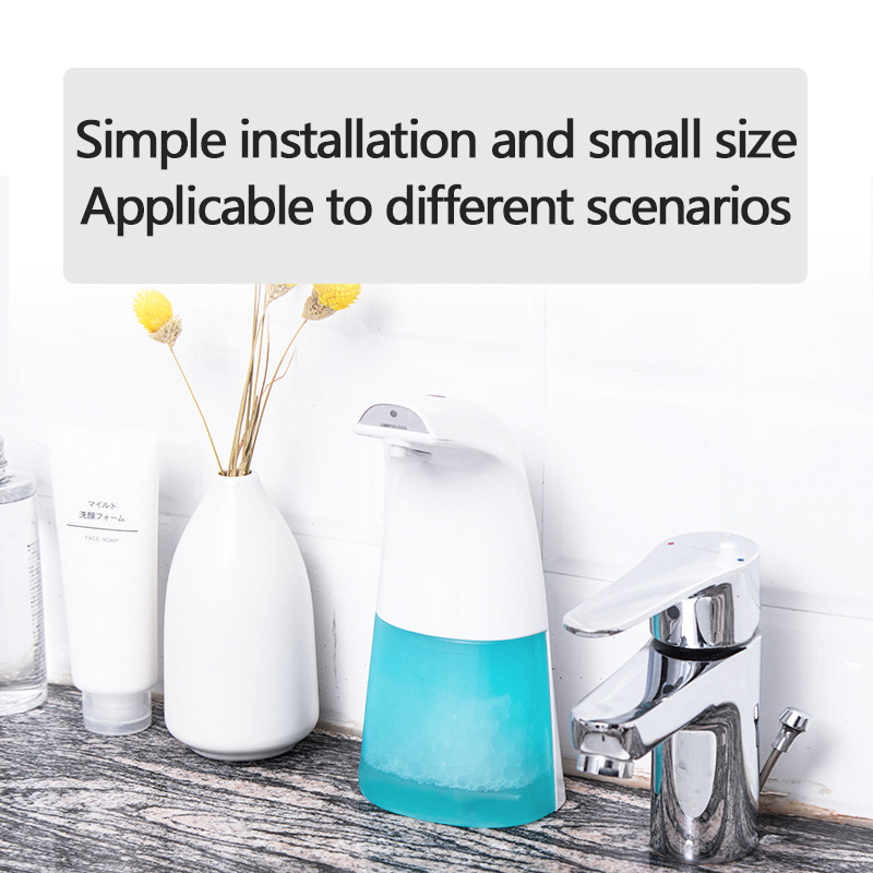 H168094862ddc4124a076cad084f4b4caH 250ml Automatic Induction Soap Dispenser Free Pressing Infrared Sensing Intelligent Soap Dispenser for Kitchen/Bathroom