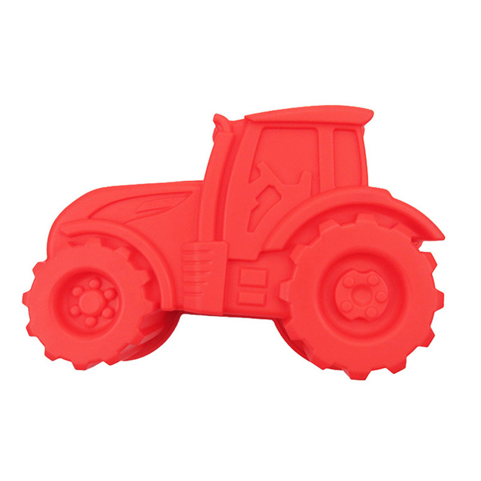 1pcs Locomotive Shape Silicone Mold <font><b>Fondant</b></font> Sugarcraft Candy Cookie Chocolate Mold <font><b>Cake</b></font> <font><b>Decorating</b></font> <font><b>Tools</b></font> Baking <font><b>Accessories</b></font> image