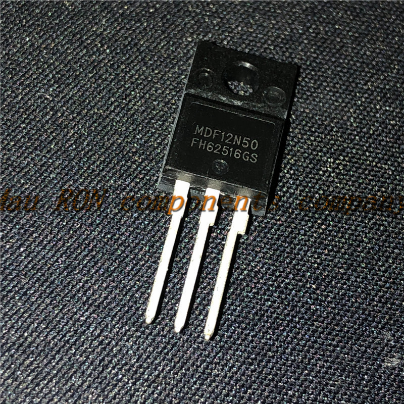 10PCS/LOT MDF12N50 12N50 TO-220F 500V 12A Notebook computer peripheral drive p new original In Stock