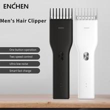 Original Xiaomi ENCHEN Boost USB Electric Hair Clipper Fast Charging Hair Trimmer Adult Children Hair Clipper  Two Speed Cutter