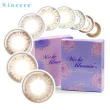 Sincere vision Brand Miche Bloomin Eye Contact Lenses colored contact lenses for eyes Monthly throw Use for 30 days 1lens(China)
