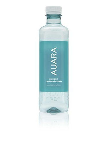 AUARA Acqua Minerale Naturale Confezione Da 12 Bottiglie Da 0,5 Litri