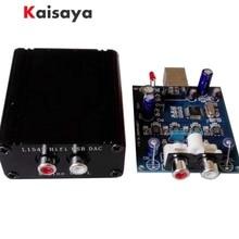 새로운 4 x l1387dac 4 pcs tda1387 dac hifi usb 디코더 (앰프 용) tda1543 G4 011