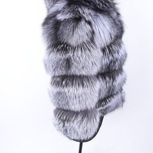 Image 5 - MAO MAO KONG winter real fox fur jacket women  parka natural real fox fur coat  Womens coat Womens fur coat