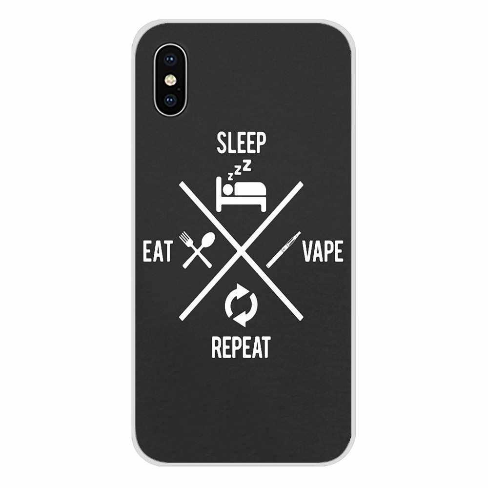 食べる吸う蒸気を吸うこと引用携帯電話バッグケース Huawei 社 G7 G8 P7 P8 P9 P10 P20 P30 Lite ミニ Pro の P スマートプラス 2017 2018 2019