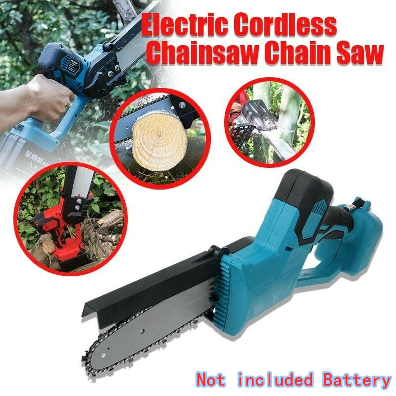 8 inch Electric Saw Chainsaw Wood Cutters Bracket Brushless Motor For Makita 18v Battery Chain Saw Power Tool 1080W|Electric Saws| - AliExpress