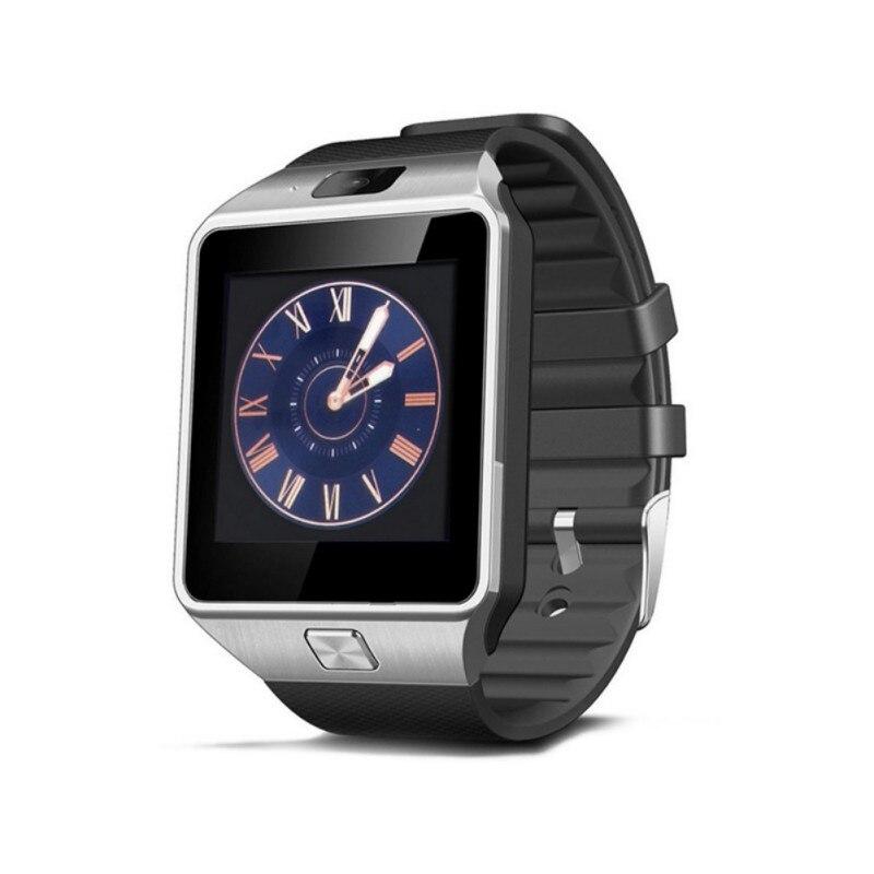 Смарт-часы с сенсорным экраном dz09 с камерой, Bluetooth наручные часы, sim-карты, Смарт-часы для Ios, Android телефонов, поддержка нескольких языков