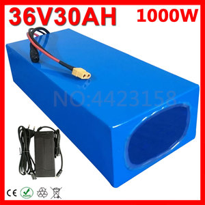 US EU Free Tax 500W 1000W 36V 10Ah 12Ah 13Ah 15Ah 16Ah 18Ah 20AH 25Ah 30Ah Electric Bike Lithium Battery Pack with BMS+Charger(China)