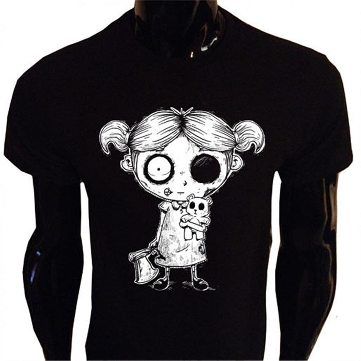 Hollywood Undead Mugshots Girls Juniors Black T Shirt New Official Soft
